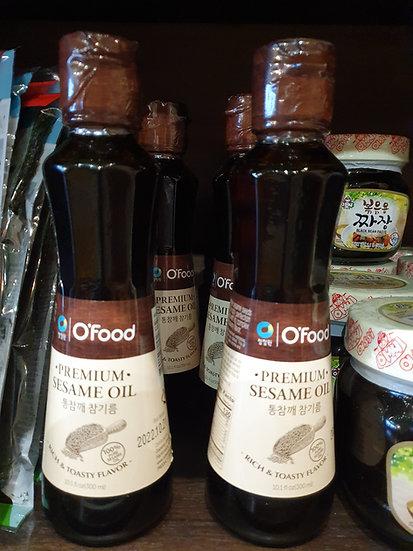 Korean  Pure Toadted Sesame Seed Oil 300ml
