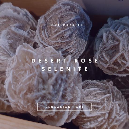 """Selenite """"Desert rose"""""""