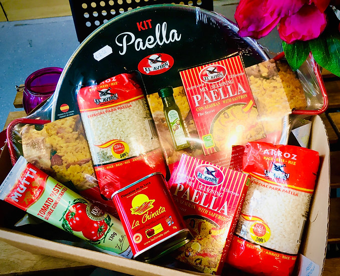 Spanish Paella Food Gift Set