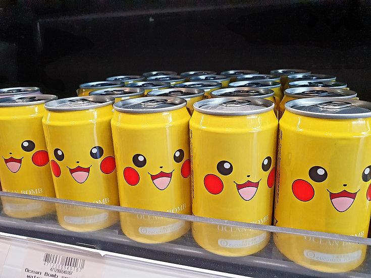 Ocean Bomb Pokeman Drink - cucumber flavour