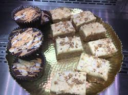 Raw vegan energy cakes