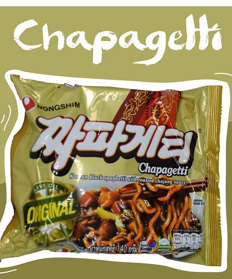 Nongshim Chapagetti (Korean Japjang black bean noodle)