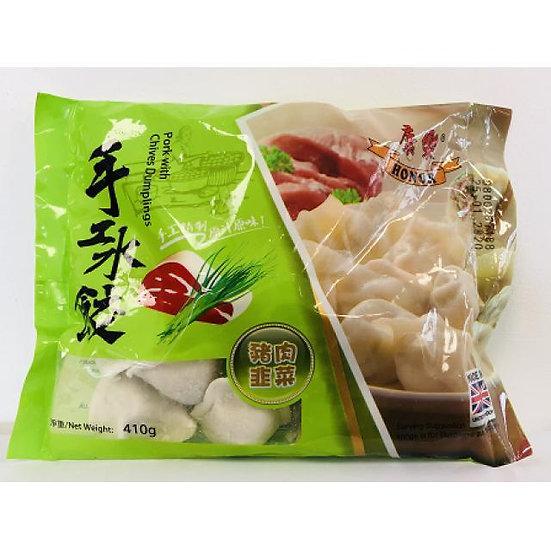 Honor Pork and Chives Dumplings 410g