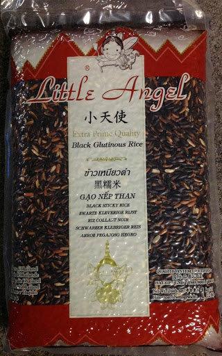 Little Angel Black Glutinous Rice 1KG