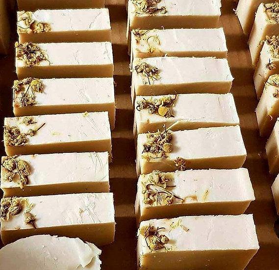ORCHARD COTTAGE FARM - CHAMOMILE & CALENDULA GOATS KEFIR SOAP
