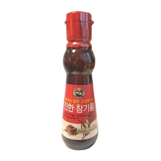 Korean Premium Pure Sesame Oil 160ml