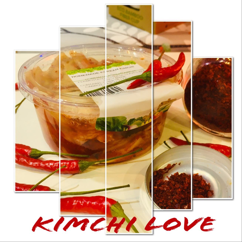 Homemade korean kimchi