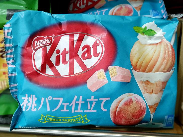 Japanese Kitkat Peach Parfait 118.8g (12 packs)