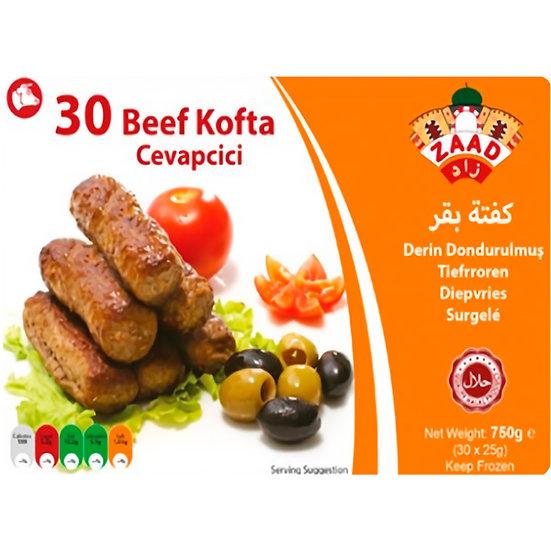 Zaad Beef Cevapcici 750g (30pcs)