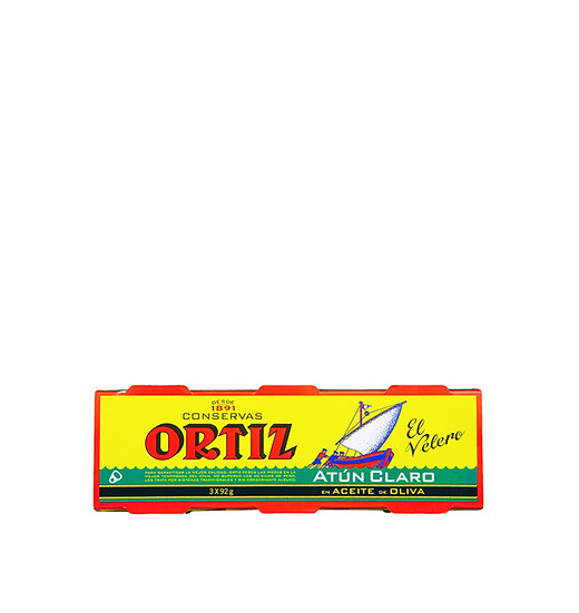Ortiz Yellowfin Tuna in Olive Oil Tin 3 x 92g