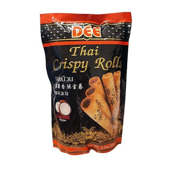 DEE Thai Crispy Rolls Coconut 150g