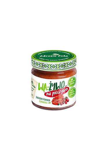 Paste with dried tomatoes and cranberry 180g
