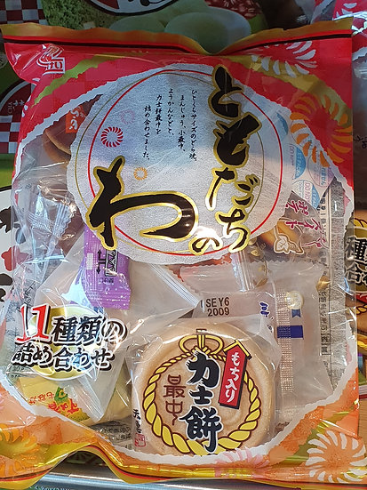 Japanese Traditional Sweets Mix 250g (11 varieties)