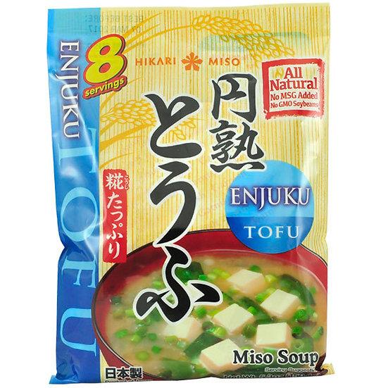 Hikari Enjuku Instant Miso Soup, Tofu, 150 g, 8 servings