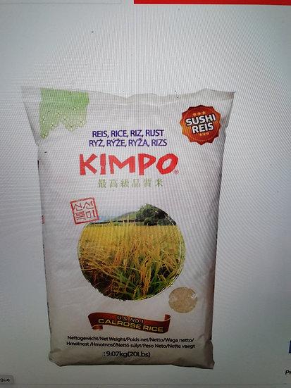 Kimpo Premium Sushi Rice 9.07 kg