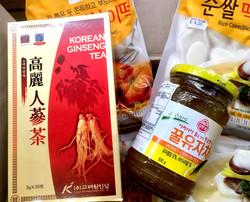 Korean Ginseng & Citron Tea