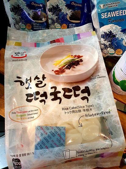 Korean Matamum Rice Cake Slices ( 200g x3 packs inside)