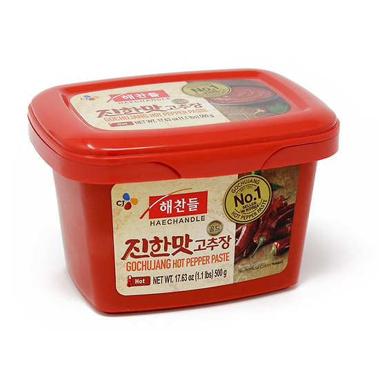 Korean Haechandle Spicy Red Pepper Paste 500g ( CJ Haechandle Gochujang)