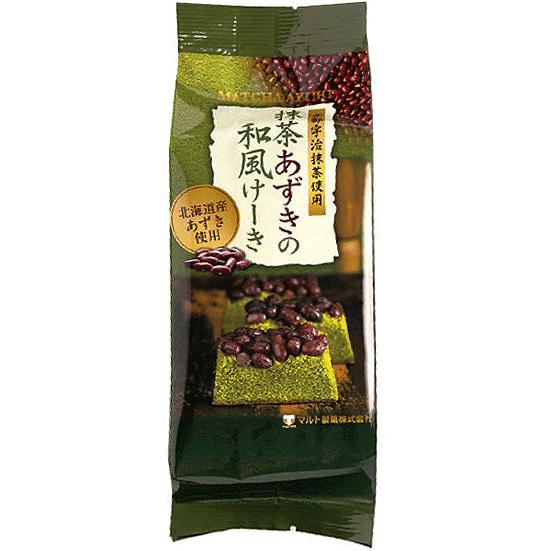 Matcha-Azuki Japanese style Cake 120g ( Red Bean)