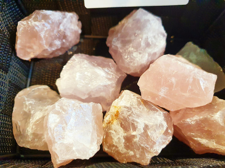 Rose quartz, chunk 2″