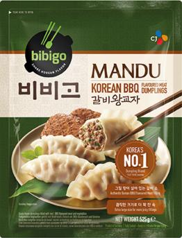 Bibigo Korean BBQ Beef Mandu Dumplings 525g