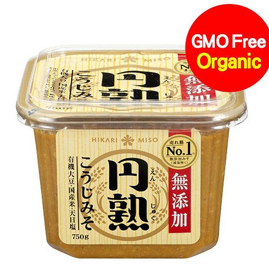 Hikari Miso Enjuku Mutenka Koji Organic Miso Paste 750g (All Natural)