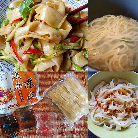 Xian Instant Cold Noodle Chilli and Peanut sauce