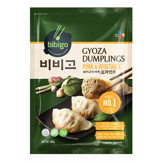 Bibigo Korean Pork and Veg Dumplings