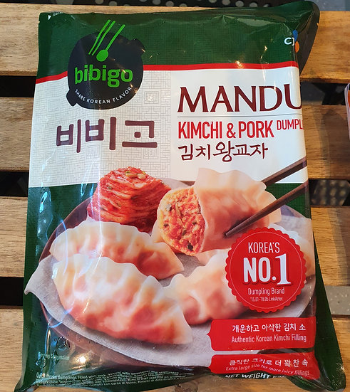 Korean Kimchi and Pork Jumbo Dumplings 525g
