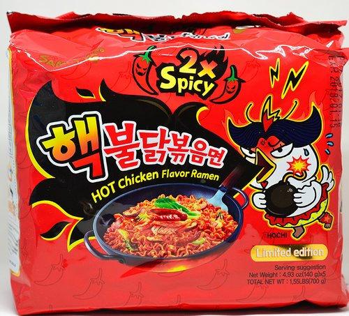 Samyang 2x Spicy Hot Chicken Ramen x 5 packs