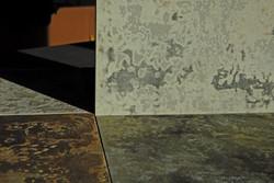 Kreidegrund auf Holz