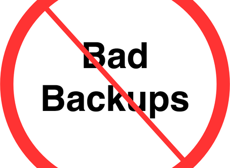 You're Doing Backups All Wrong!