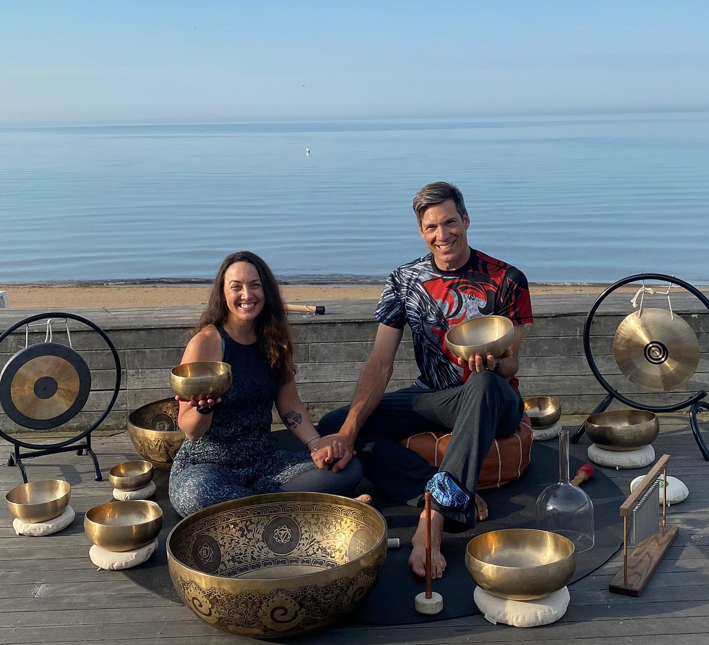 Sound Bath With Tibetan Singing Bowls