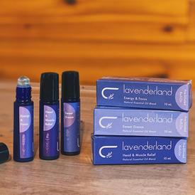 Lavender Essential Oil Roller (10 ml)