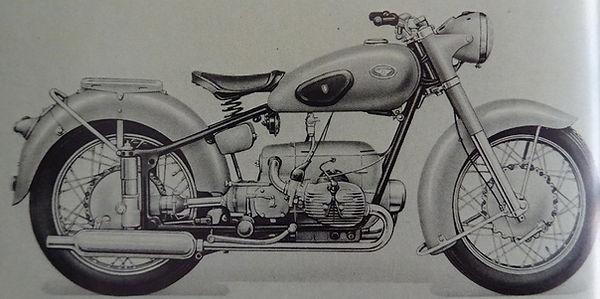 Zündapp KS 600 W/Gespann