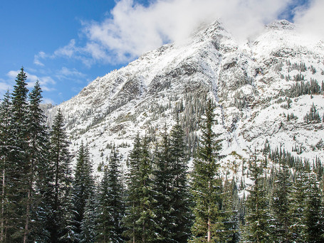 Snow in the North Cascades