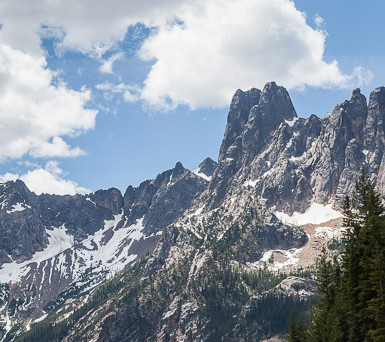 Liberty Bell Peaks