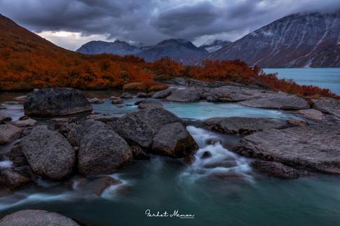 Colours of Arctic Autumn