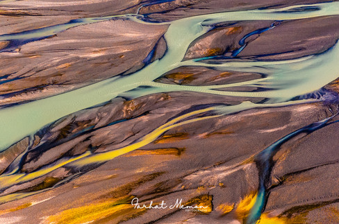 Braided Rivers of New Zealand