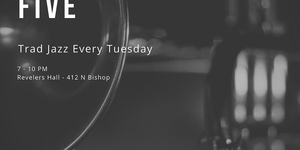 Bishop Arts Hot Five - Trad Jazz Tuesdays