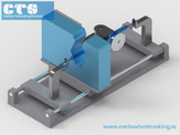 Laser Micrometer Holding Fixture.