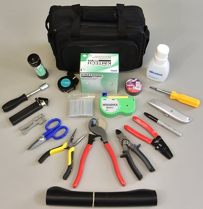 GS-4306B Fiber Optic Fusion Splicing Tool Kit