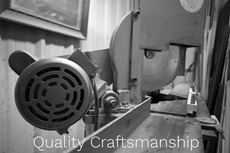 Quality Craftsmanship: we take pride in our work and put quality first.