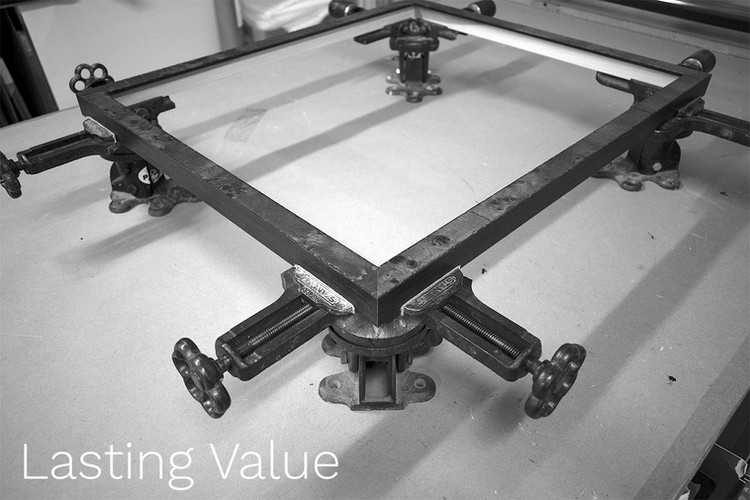 Lasting Value: We aim for timelessness in our framing, but will work with our customers to provide great solutions of any aesthetic they would like.