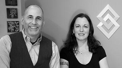 AFR framers, Justin Matthias and Shanti Conlan