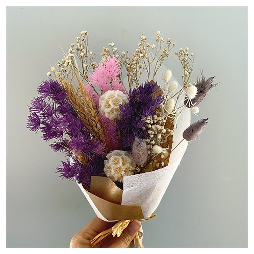 Dried Mini Florals - Purple