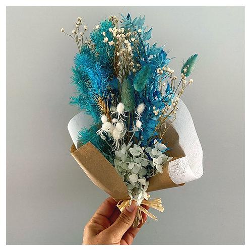 Dried Mini Florals - Blue