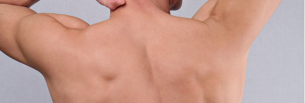 Depilação Masculina c/ Cera - 06 Tórax + 06 Abdômen + 06 Dorsal + 06 Lombar