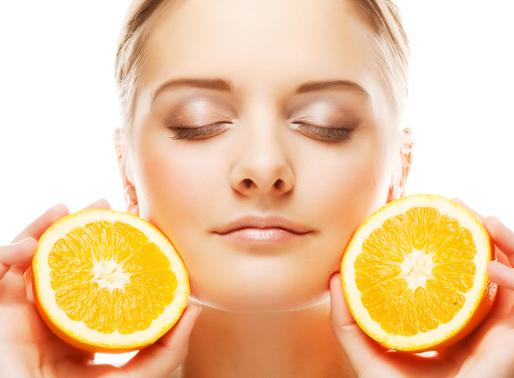 Vitamina C e seus benefícios para a pele...