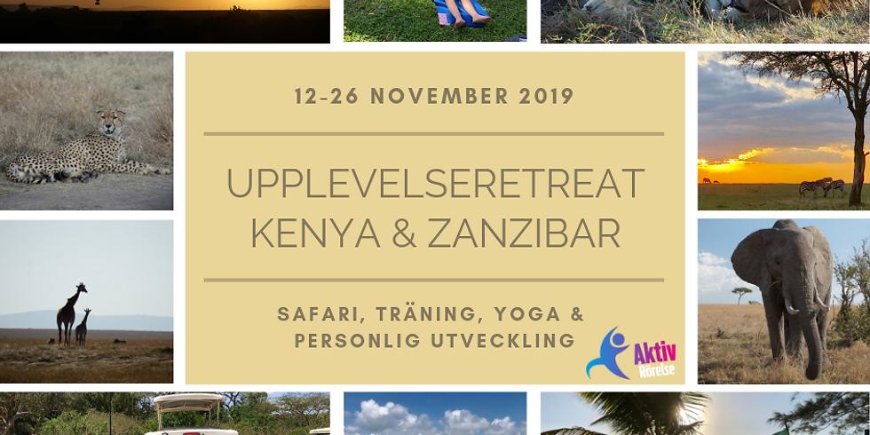 Upplevelseretreat Kenya & Zanzibar